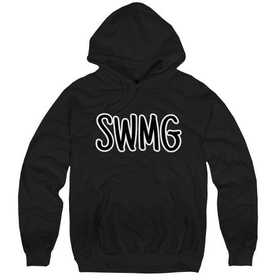 SWMG hoodie front/back logo