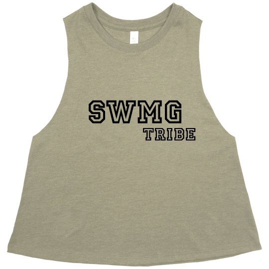 SWMG Tribe Cropped Tank