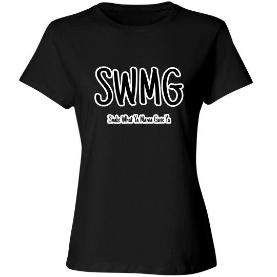 SWMG w/words Ladies Tee