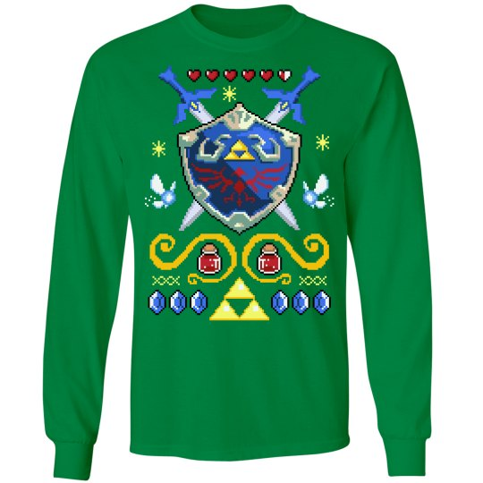 Sword and Shield Sweater