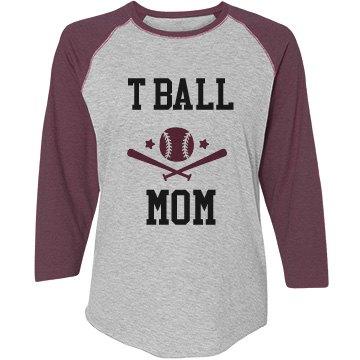 T ball mom