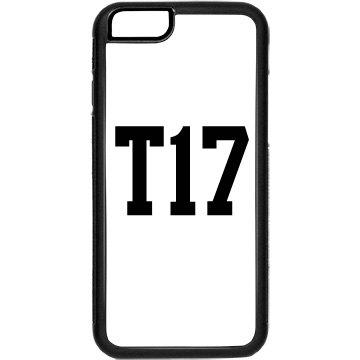 T17 iphone 6 rubber case
