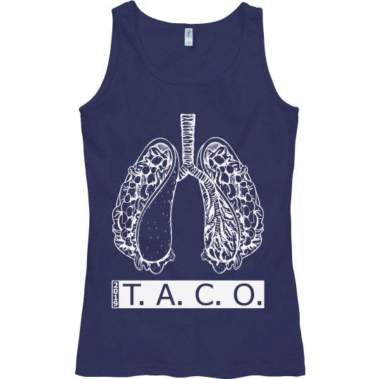 Taco-Lungs (White Design)