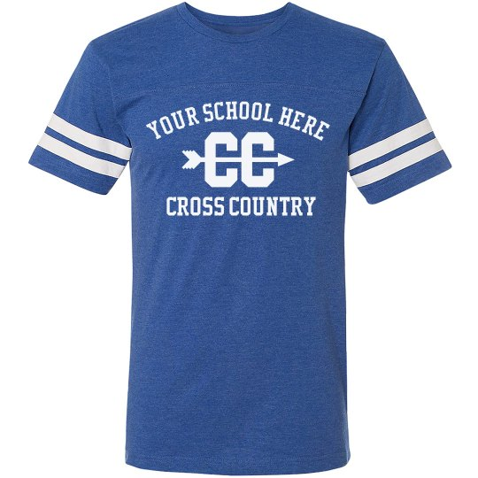 Tailor Made School Name, Cross Country, Vintage Shirt