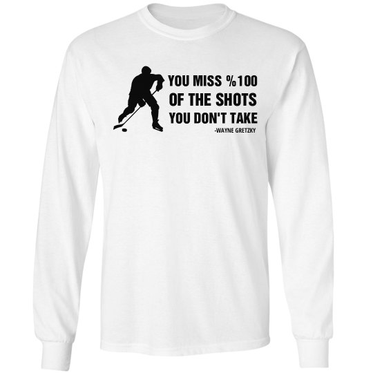 Tailor-made Team Name, Number, Gretzky Long Sleeve Tee
