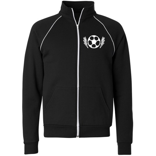Tailor-Made Your School Name Fleece Track Jacket