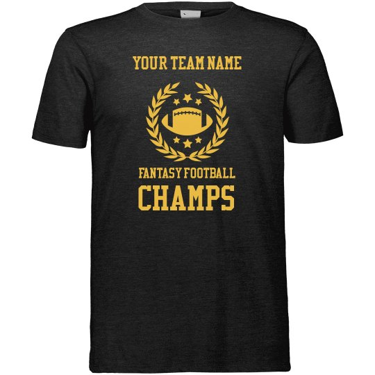 Tailor-Made Your Team Name Fantasy Football T-Shirt