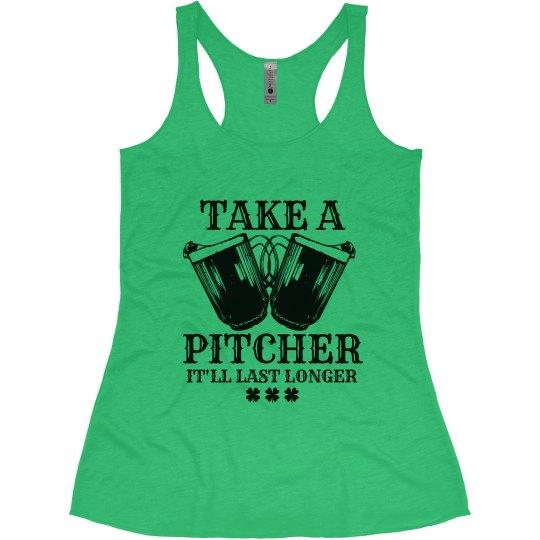 Take a Pitcher It'll Last Longer