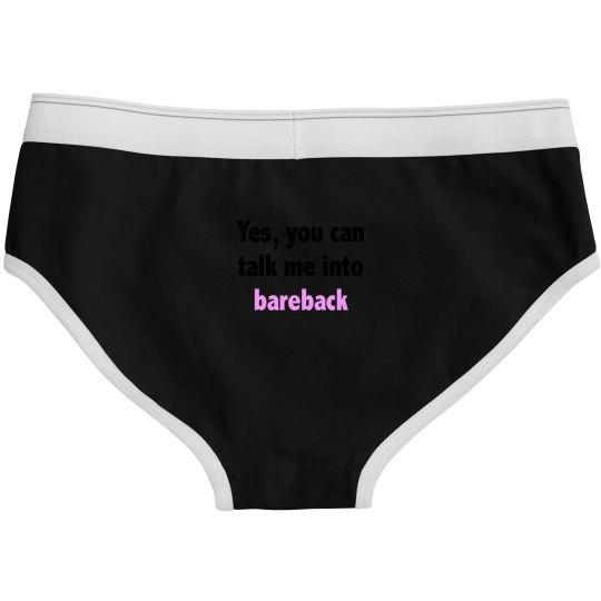 Talk Me Into Bareback