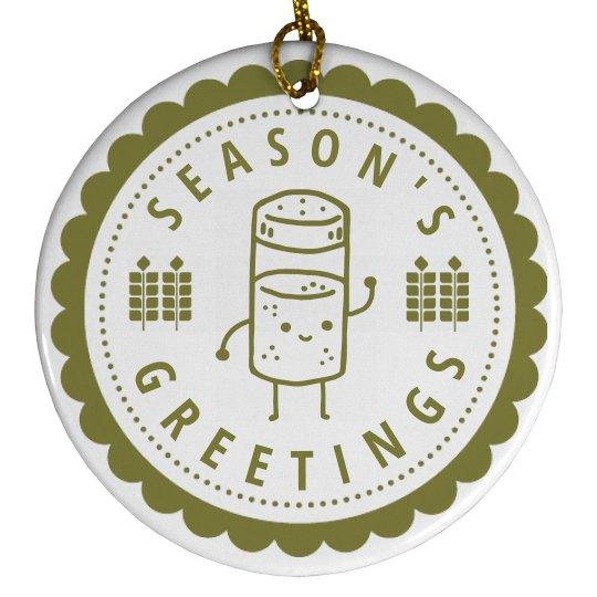 Tall Spice Seasons Greeting