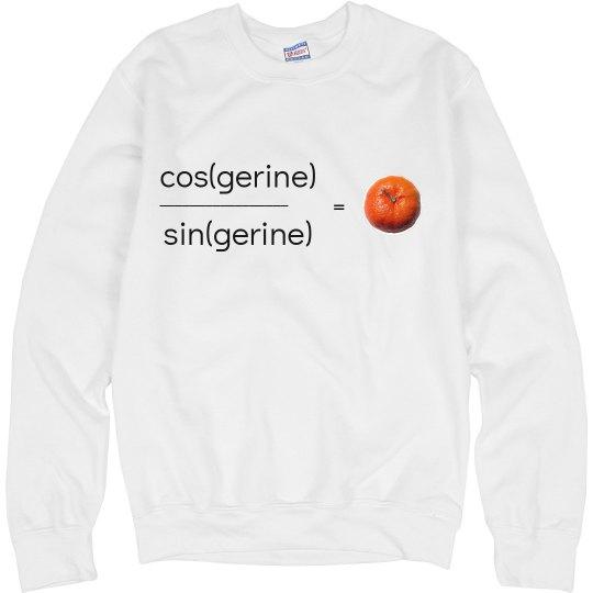 Tangerine Sweatshirt