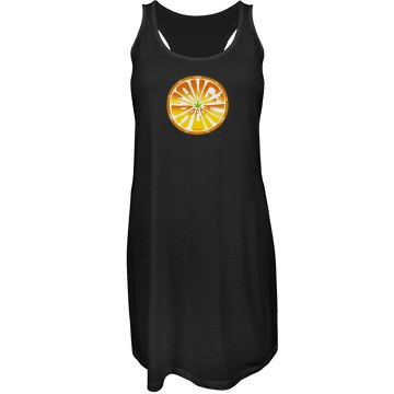 Tangi Racerback Beach Dress Blk