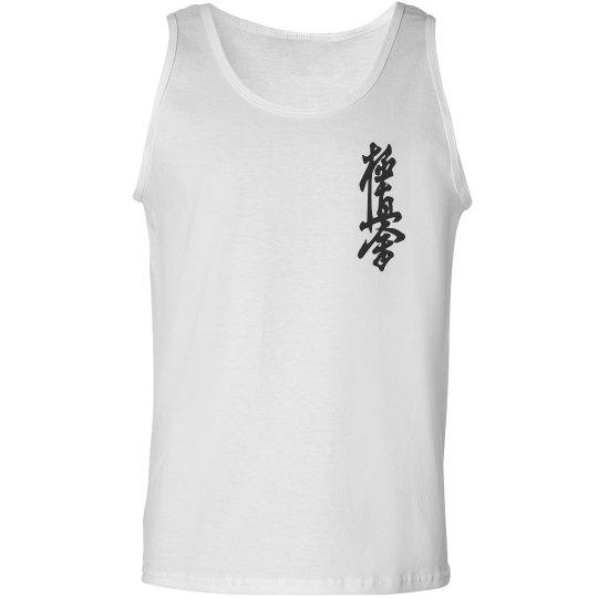 Tank Top with Kanji and Logo