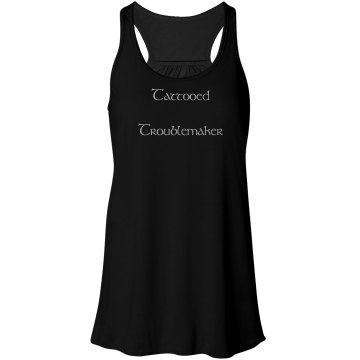 Tattooed Troublemaker Tank Top