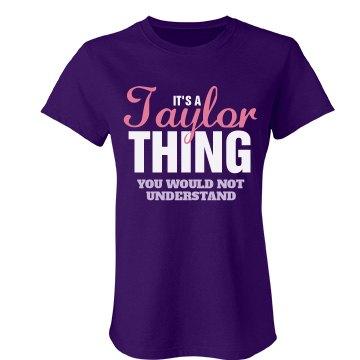Taylor Thing