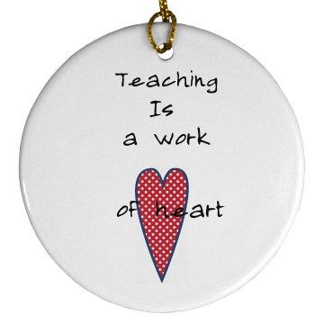 Teachers oranement