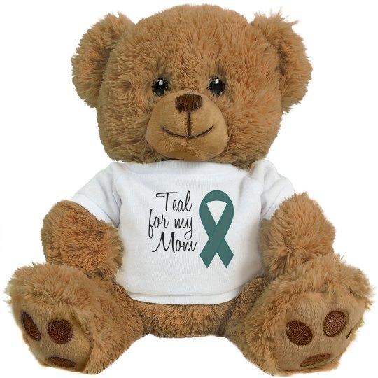 Teal For Mom Bear