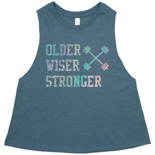 Teal OWS Muscle Crop