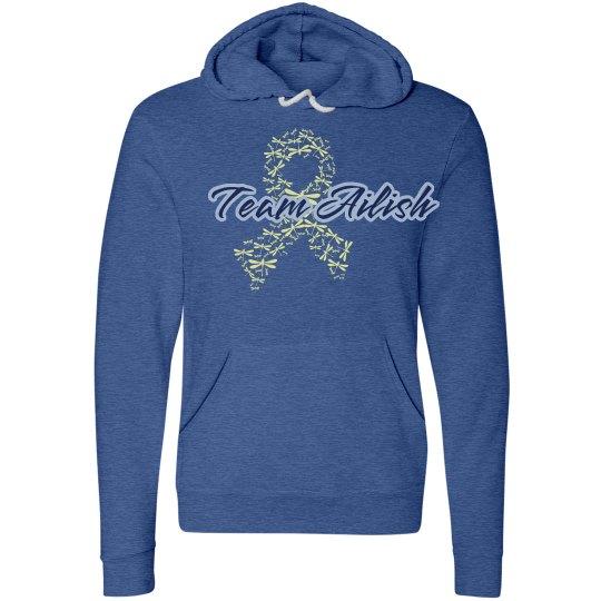 Team Ailish Ribbon Hoodie