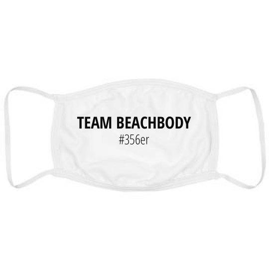 Team Beachbody #356er Face Mack