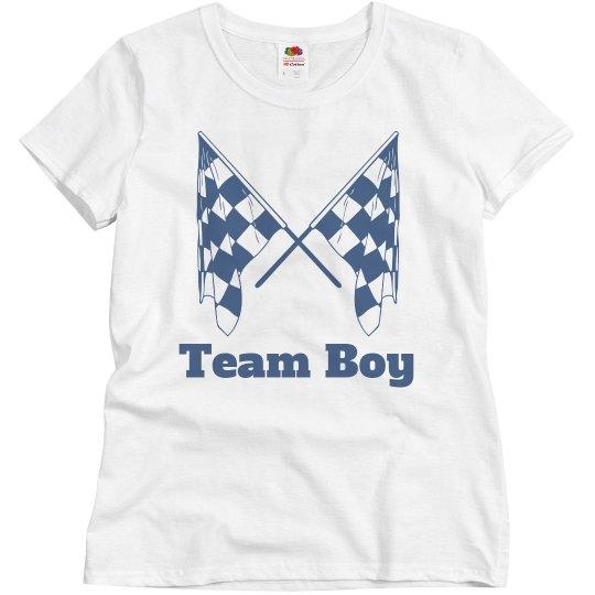 Team boy LaLa/Amarr gender reveal