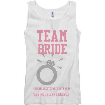 TEAM BRIDE - BACHELORETTE PARTY