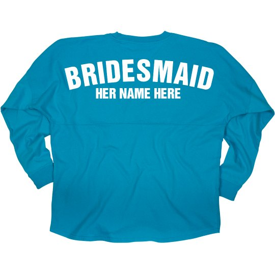 Team Bride Custom Bridesmaid