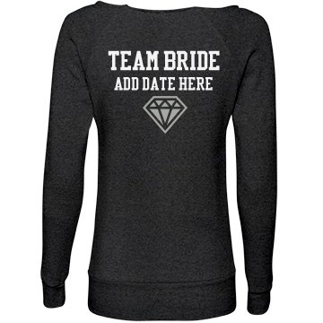 Team Bride Custom Fleece