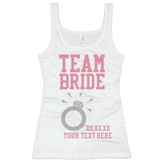 Team Bride Giant Ring