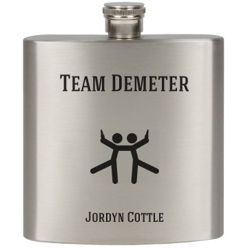 Team Demeter Flask