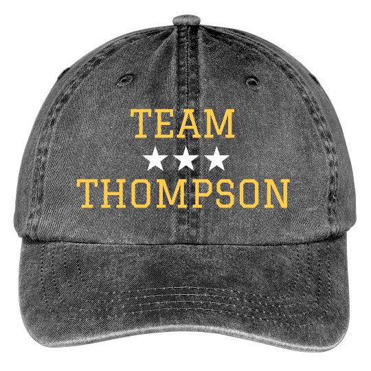 Team Family Customized Hat