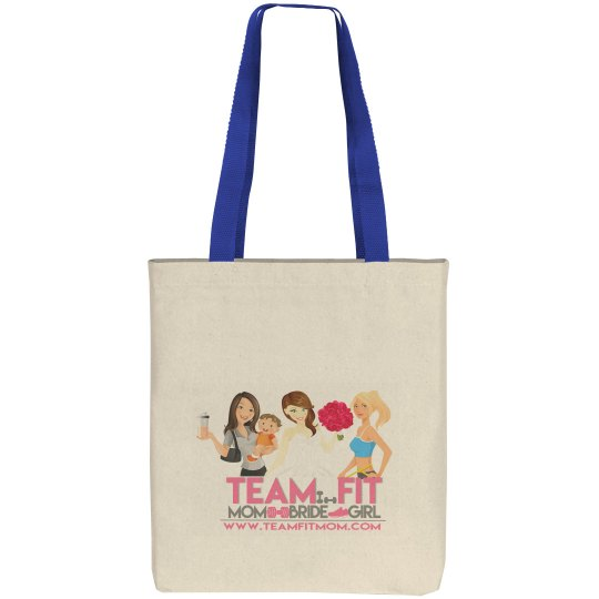 TEAM FIT CANVAS TOTE