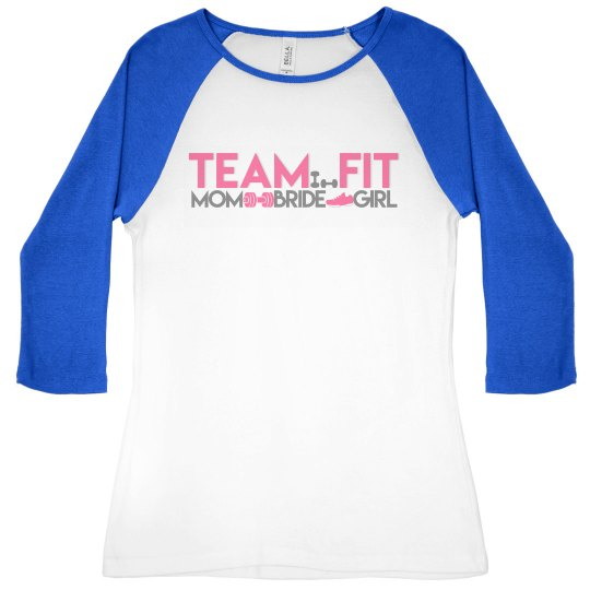 Team Fit Logo Baseball Shirt