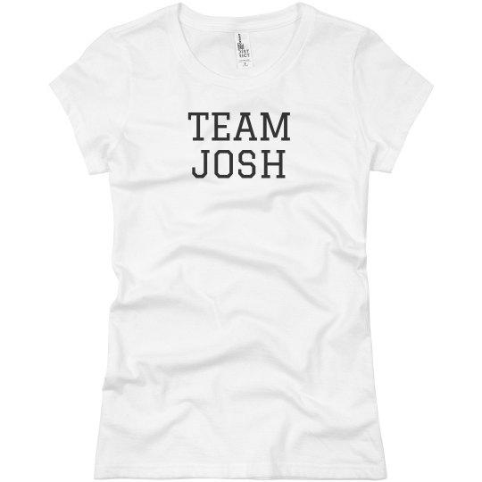 Team Josh The Boy Next Door