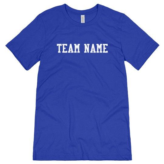 Team Name Coach Tee