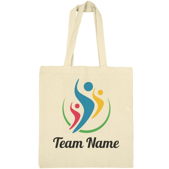 Team Name Logo Tote