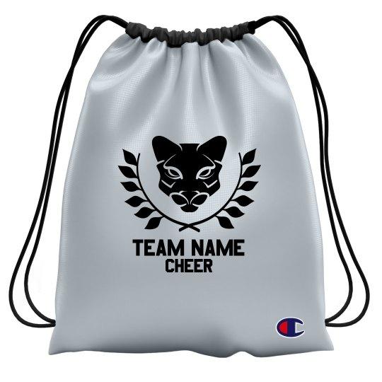 Team Name Mascot Drawstring Bag