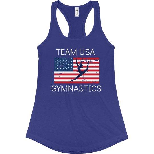 Team USA Gymnastics Tank