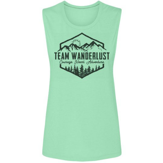 Team Wanderlust Muscle Tank
