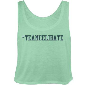 #teamcelibate loose tee