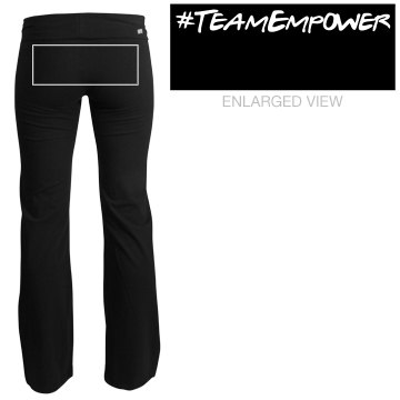 #TeamEmpower Yoga Pants