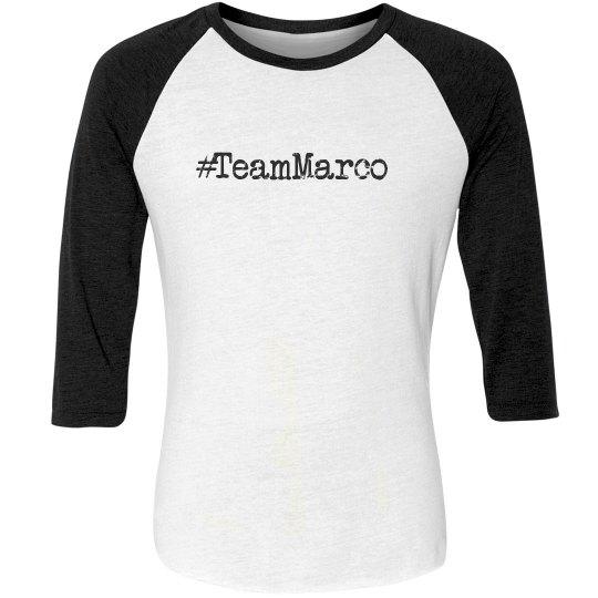 #TeamMarco