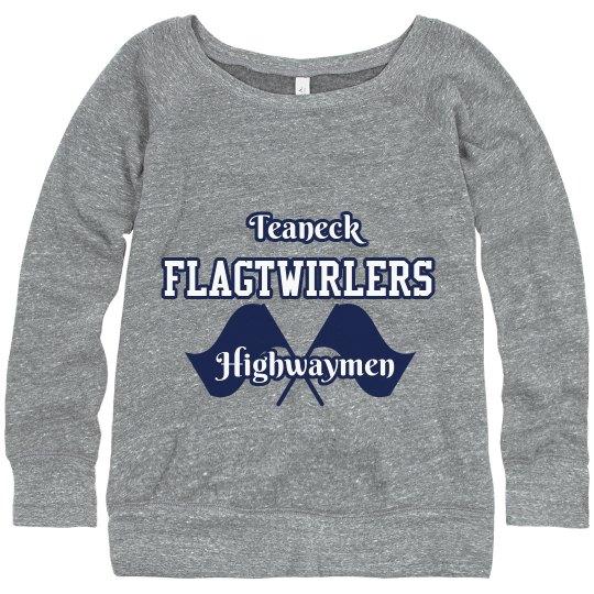 Teaneck Flagtwirler Sweatshirt