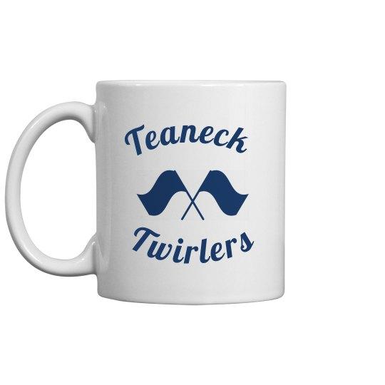 Teaneck Twirler Coffee Mug