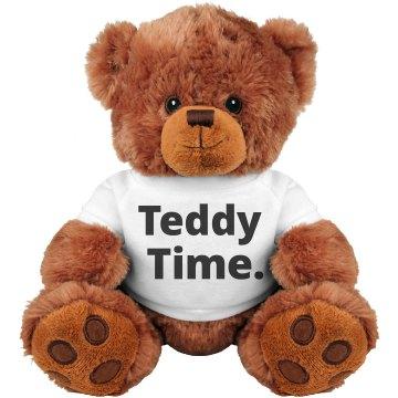 Teddy Time Bear