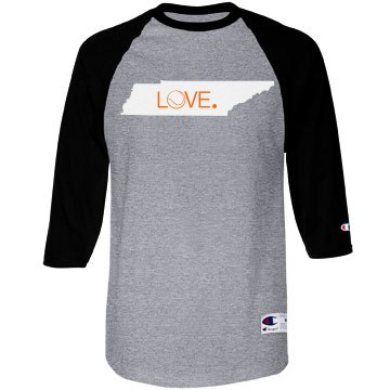 Tennessee Tennis State Love Tshirt