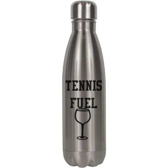 Tennis Fuel Wine bottle