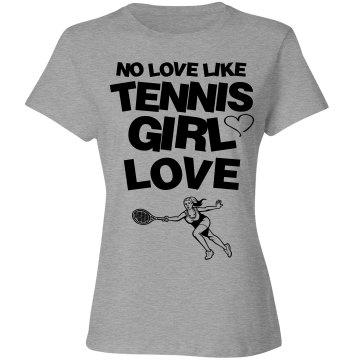 Tennis Girl love