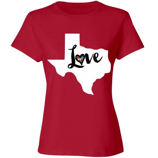 Texas Autism Tshirt