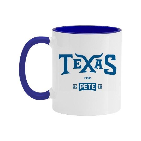 Texas for Pete - Mug